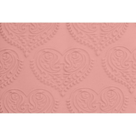FMM Paisley Heart Embossed Rolling Pin