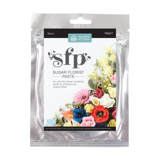 SK SFP Sugar Florist Paste Black 100g