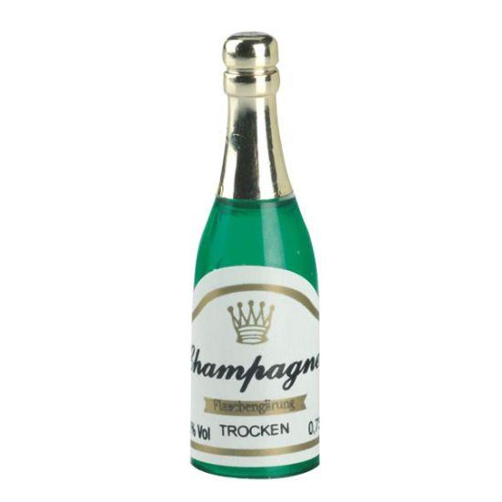 Plastic Champagne Bottle Cake Topper