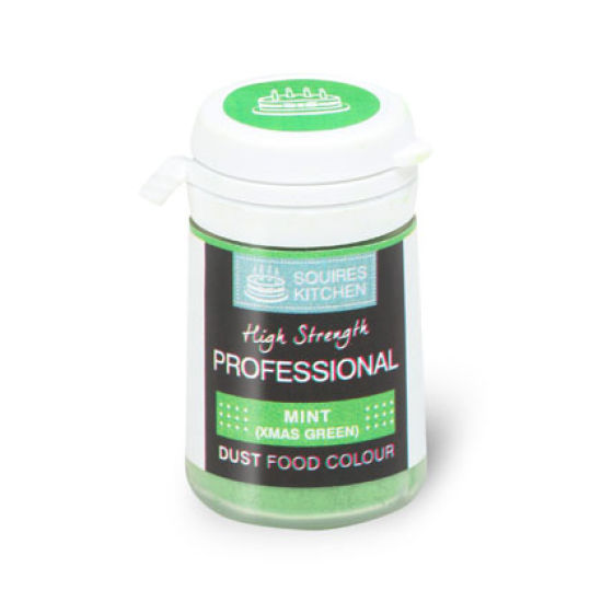 SK Professional Food Colour Dust Mint (Xmas Green) 4g