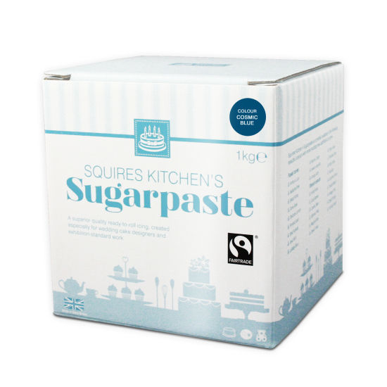 SK Fairtrade Sugarpaste Cosmic Blue 1kg