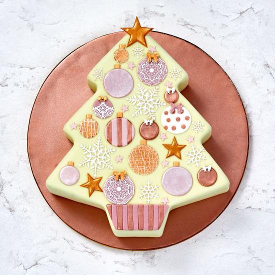 Boxbake Christmas Tree Baking Box Squires Kitchen Shop