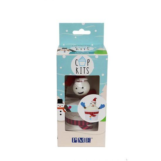 PME Snowman Cupcake Kit Set of 6