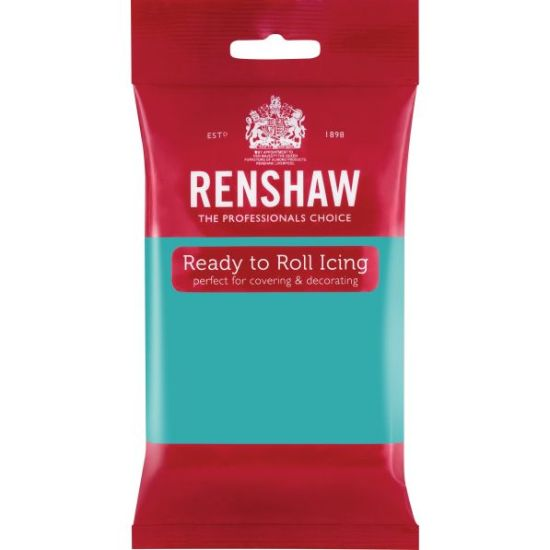 Renshaw Ready to Roll Icing Jade Green 250g