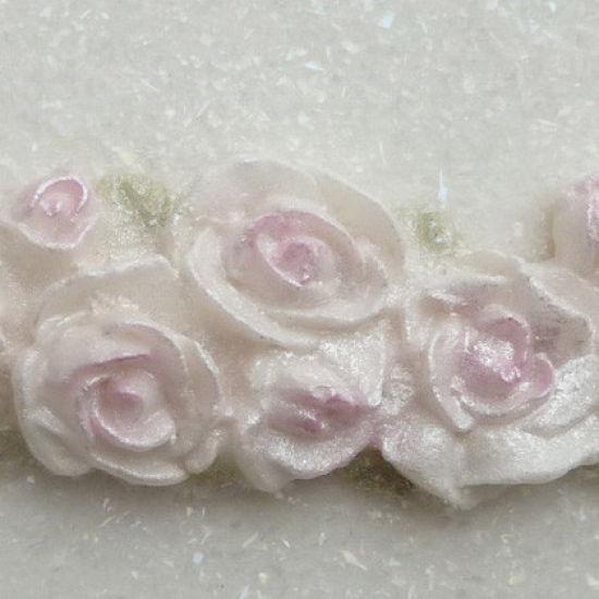 Karen Davies Piped Rose Border Mould