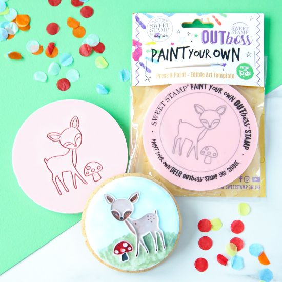 Sweet Stamp OUTboss Paint Your Own Deer