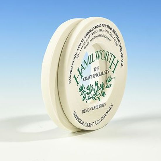 Hamilworth Floral Tape 6mm - White