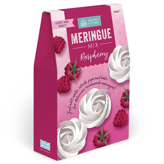 SK Meringue Mix Raspberry Boxed 250g