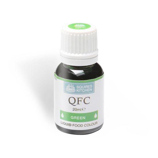 SK QFC Quality Food Colour Liquid Green 20ml
