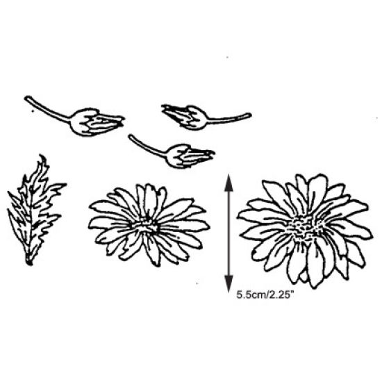 Patchwork Cutter & Embosser Large Daisies