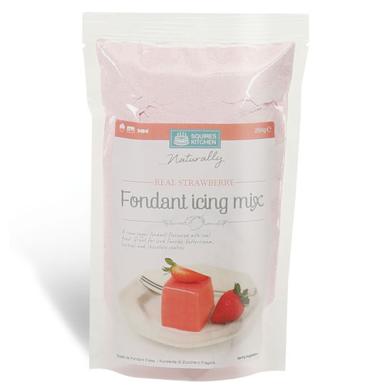 SK Fondant Icing Mix Real Strawberry 250g