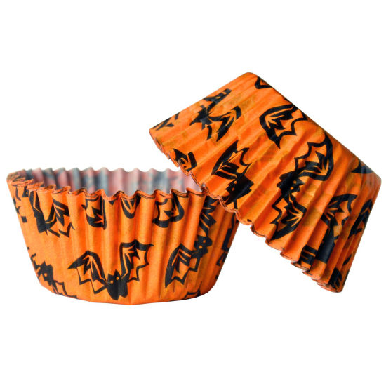 Cupcake Cases - Spooky Bats