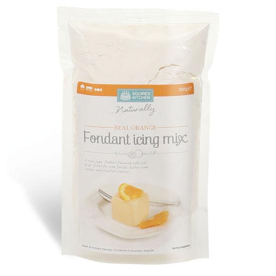 SK Fondant Icing Mix Real Orange 250g