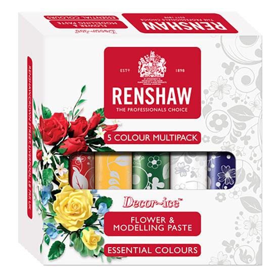 Renshaw Flower & Modelling Paste Multipack 5 x 100g