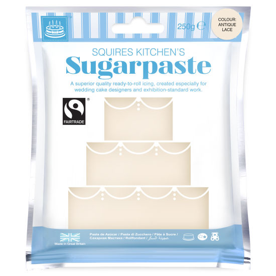 SK Fairtrade Sugarpaste Antique Lace 250g