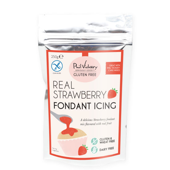 PV Seriously Good!™ Gluten-Free Real Strawberry Fondant Icing Mix