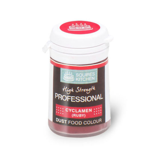 SK Professional Food Colour Dust Cyclamen (Ruby) 4g