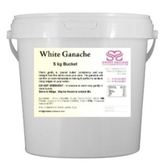 Ready Made White Ganache 5kg
