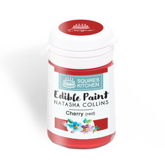 SK Edible Paint by Natasha Collins Cherry (Red)