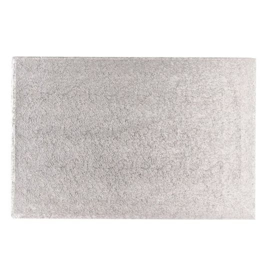 Silver Drum 1/2 Inch Thick Oblong 20x18 Inch