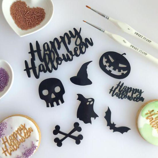 Sweet Stamp Halloween Embossing Elements