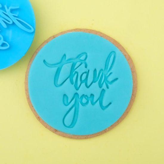 Sweet Stamp Thank You Cupcake Embosser