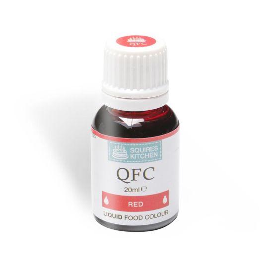 SK QFC Quality Food Colour Liquid Red 20ml