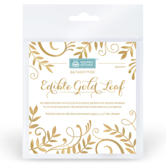 SK Edible Gold Leaf Book of 25 Sheets
