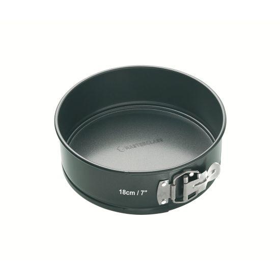 MasterClass 18cm Round Loose Base Spring Form Cake Pan