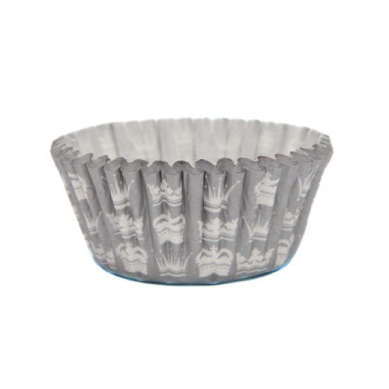 SK Cupcake Cases Crown Silver Pack of 36