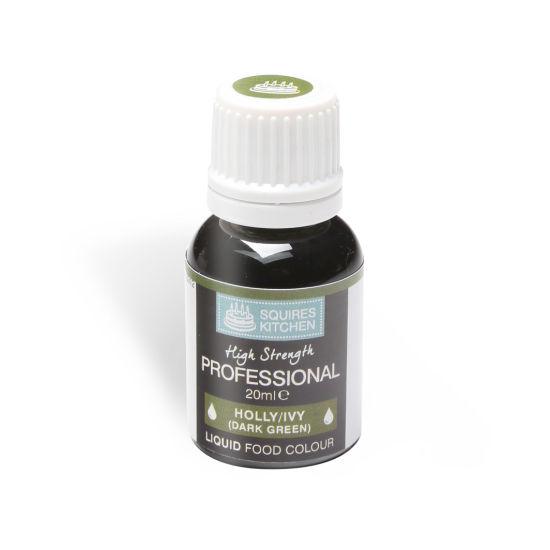 SK Professional Food Colour Liquid Holly/Ivy (Dark Green)