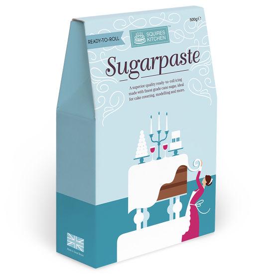 SK Sugarpaste White Boxed 500g