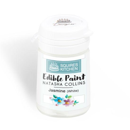 SK Edible Paint by Natasha Collins Jasmine (White)