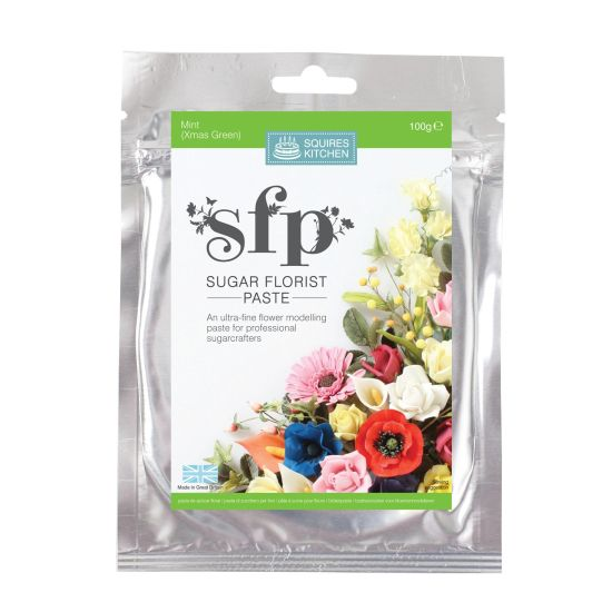SK SFP Sugar Florist Paste Mint (Christmas Green) 100g