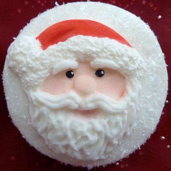 Karen Davies Santa Face Mould