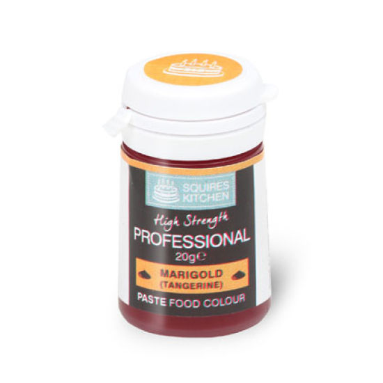 SK Professional Food Colour Paste Marigold (Tangerine) 20g
