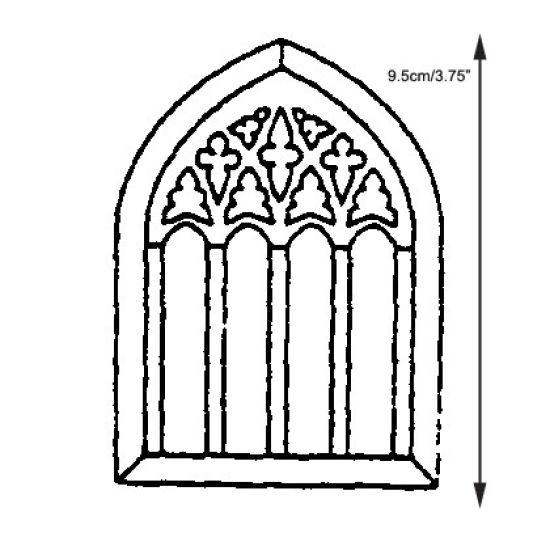 Patchwork Cutter & Embosser Church Window