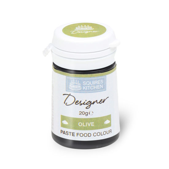 SK Designer Food Colour Paste Olive 20g