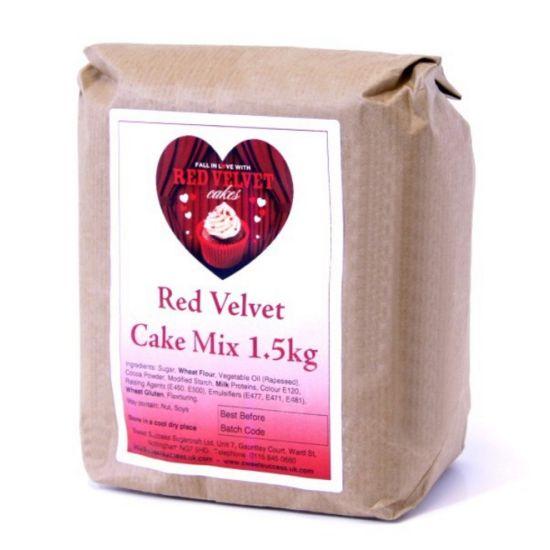 Sweet Success Red Velvet Cake Mix 1.5kg