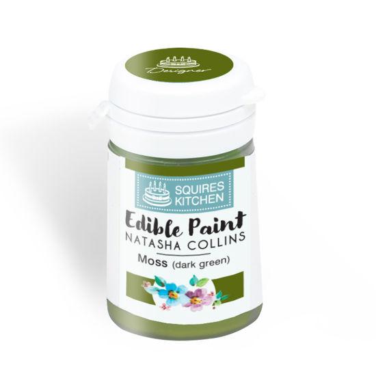 SK Edible Paint by Natasha Collins Moss (Dark Green)