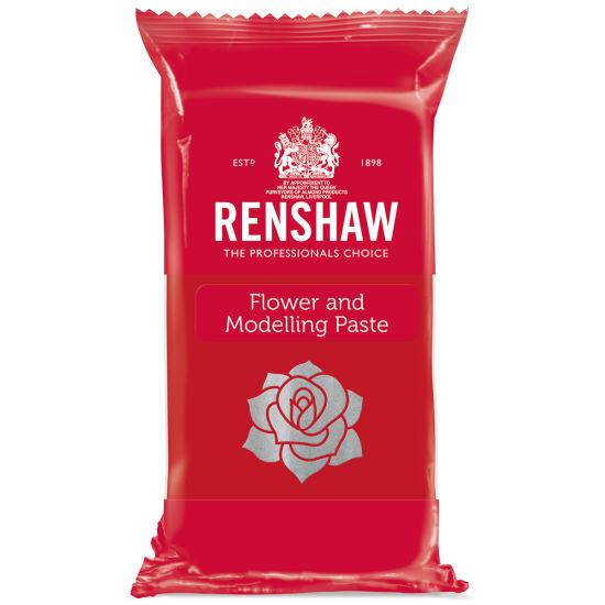 Renshaw Flower & Modelling Paste Carnation Red 250g