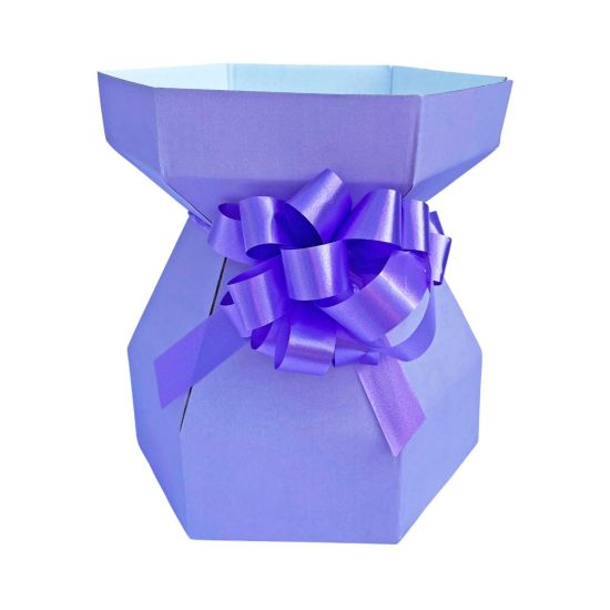 Purple Cupcakes Cupcake Bouquet Box - Lilac
