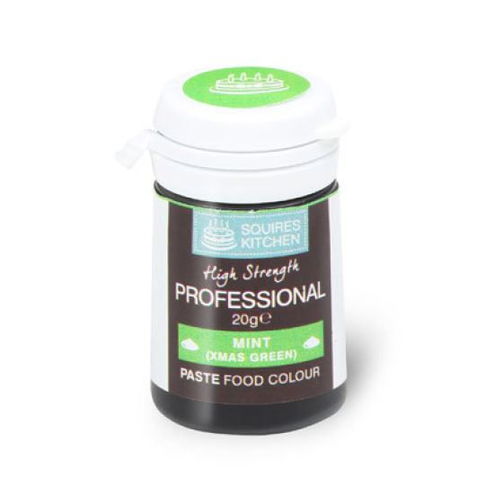 SK Professional Food Colour Paste Mint (Xmas Green) 20g