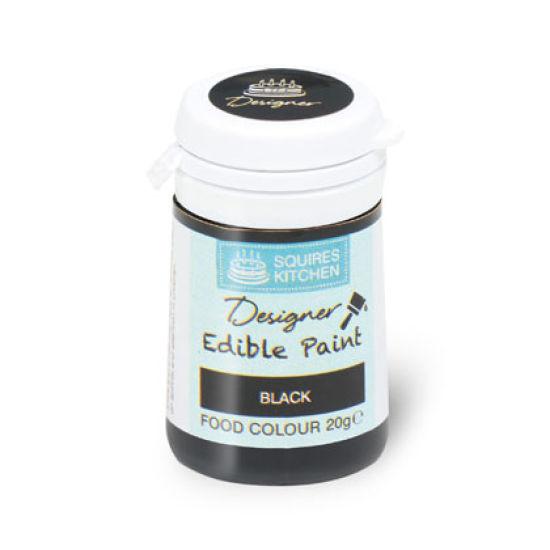 SK Designer Edible Paint Black 20g
