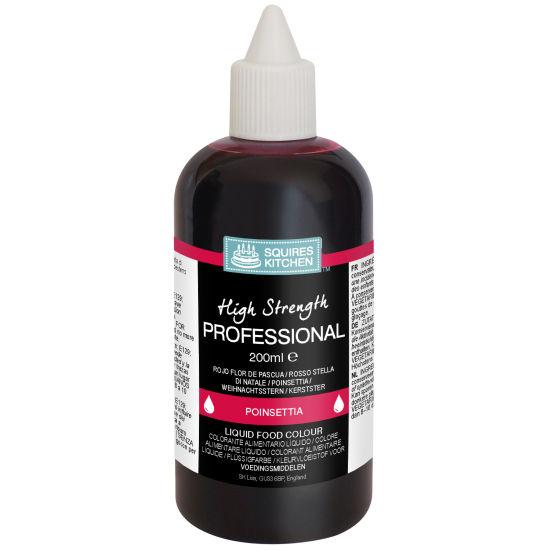SK Professional Food Colour Liquid Poinsettia (Xmas Red)