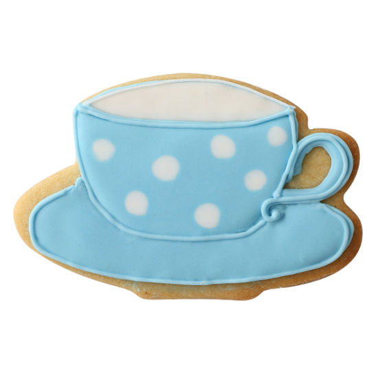 SK Teatime Cup and Saucer Cookie Cutter
