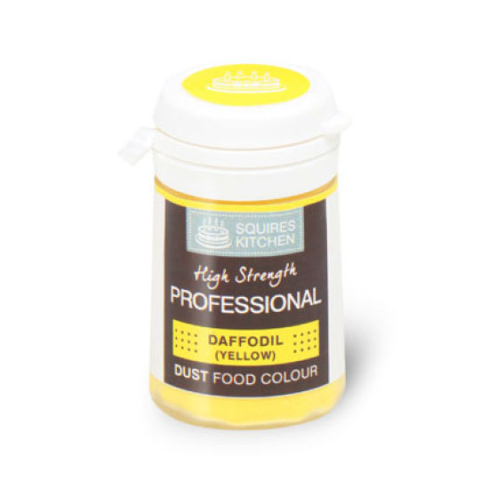 SK Professional Food Colour Dust Daffodil (Yellow) 4g