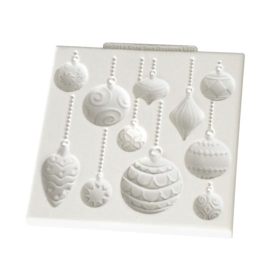 Katy Sue Christmas Baubles Mould