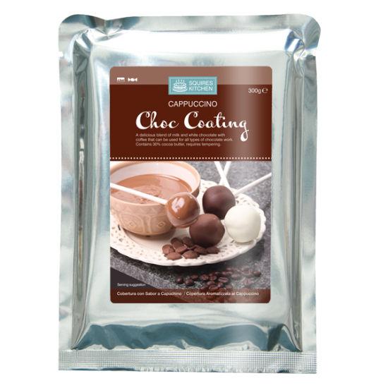 SK Cappuccino Choc Coating (Non Tempering) 300g
