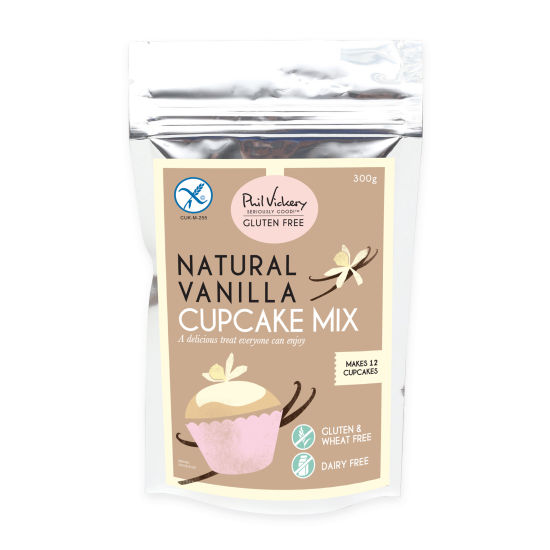 PV Seriously Good!™ Gluten-Free Natural Vanilla Cupcake Mix